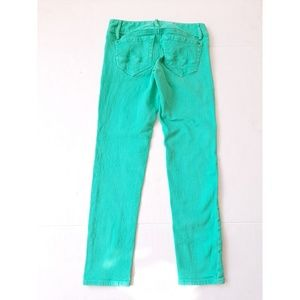 Lilly Pulitzer Jeans - Lilly Pulitzer Worth Skinny Stretch Teal Jeans